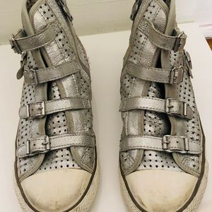 Ash Silver star sneakers